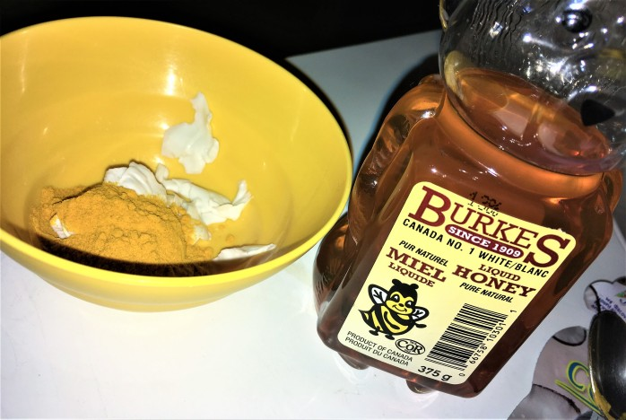 Sweeten it up with some honey =)